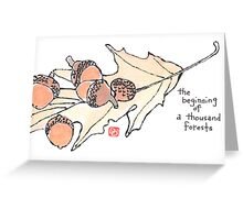 Hidden Forests Greeting Card