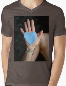 Have a Heart Mens V-Neck T-Shirt