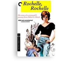 rochelle rochelle poster Canvas Print