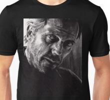 Il kill you... If you want me to - conté drawing Unisex T-Shirt