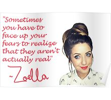 Zoella - FEARS Poster