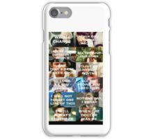Doctor Who Matt Smith quote iphone case iPhone Case/Skin