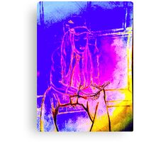 'SILENCE IN NOISE' GOLDEN SUNLIGHT SERIES Canvas Print