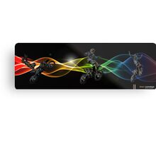 Motocross graphic Metal Print