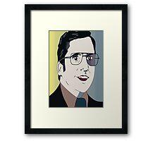 Anchorman 2 - Brick Framed Print