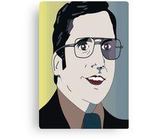 Anchorman 2 - Brick Canvas Print