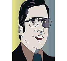 Anchorman 2 - Brick Photographic Print