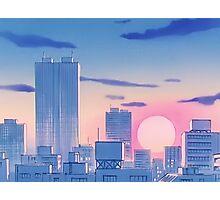 Sailor Moon Sunset Photographic Print