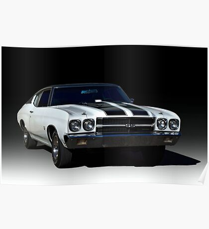 1970 Chevelle SS-454 Poster