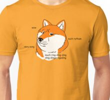 What does the foxe say? Unisex T-Shirt