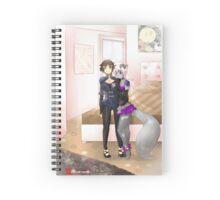 Yana & Ceri Bedroom Spiral Notebook