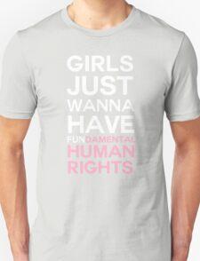 Feminism is fun Unisex T-Shirt