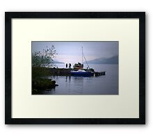 Looking for Nessie Framed Print