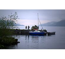 Looking for Nessie Photographic Print