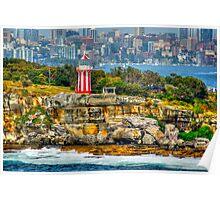Behind the Lens ~ Australian Lighthouse Poster