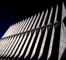 Air Force Academy Cadet Chapel (Exterior 2)  by WestbrookArts