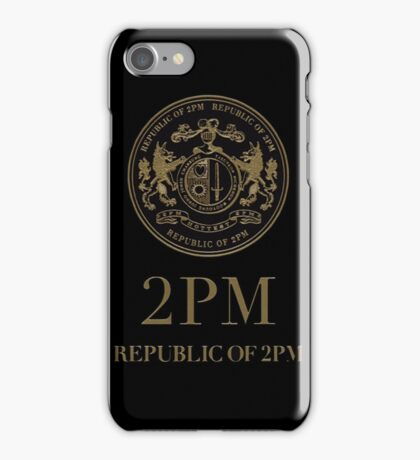 2PM Republic iPhone Case/Skin