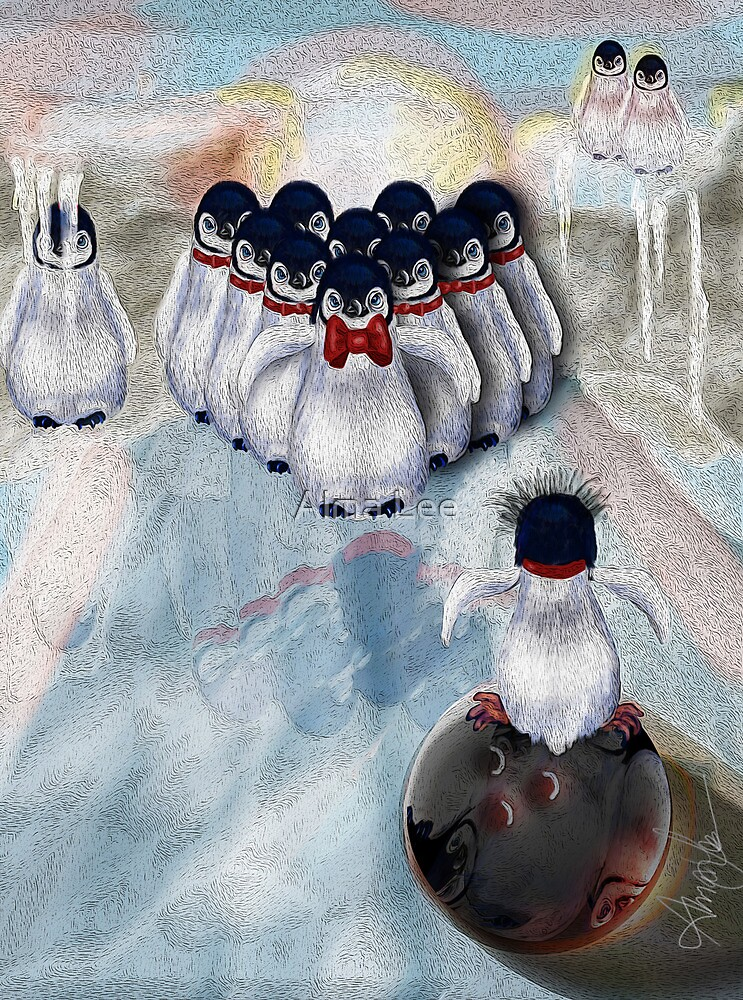 Ice Bowl by Alma Lee
