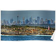 Behind the Lens ~ Coast of Sydney, Australia Poster