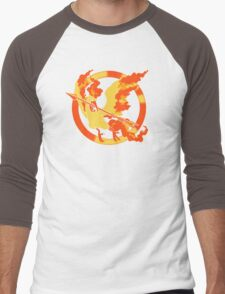 Moltres Games Men's Baseball ¾ T-Shirt