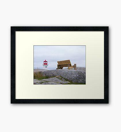 Peggy's Cove Framed Print