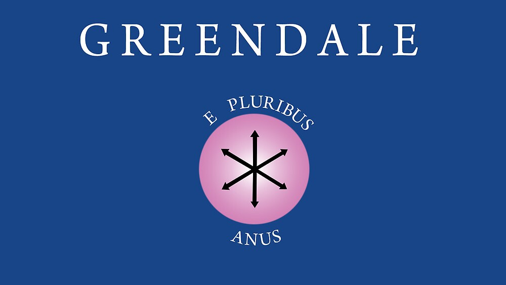 Community Logo - E Pluribus Anus by AllstarHeatley