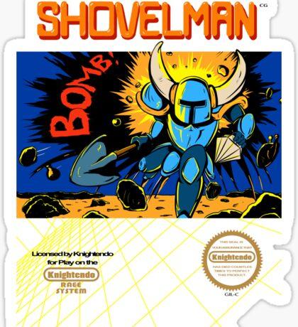 Shovelman Sticker