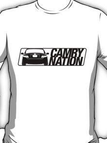 Camry Nation - Gen 6 Black Alternate T-Shirt