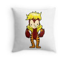 SABRETOOTH XMEN Throw Pillow