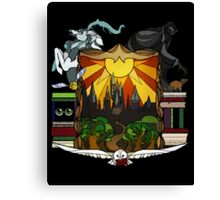 Harry Potter Stained Glass  Canvas Print