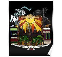 Harry Potter Stained Glass  Poster