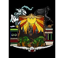 Harry Potter Stained Glass  Photographic Print