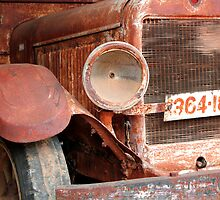 Rusting Truck 2 by John Wallace