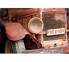 Rusting Truck 2 Photographic Print