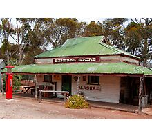 General Store in Australian Heritage Town Photographic Print