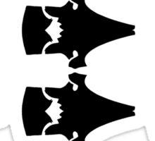 Chuck's Bomber Jacket (Black) Sticker