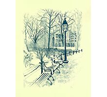 Washington Park in Winter Photographic Print