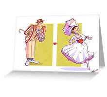 R&A: Costumed Kiss Greeting Card