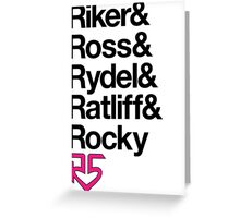 R5  Greeting Card