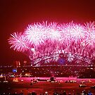 Sydney NYE Fire Works 2013/14 by Andrew  MCKENZIE