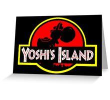 Yoshi's Island Greeting Card