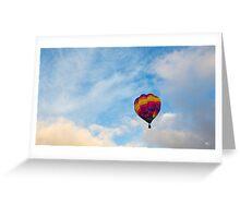 31st International Balloon Meeting Greeting Card