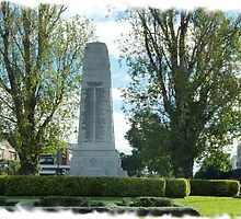 City Of Williamstown - Cenotaph on Strand, Vic. by EdsMum