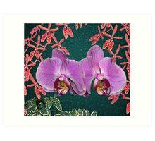 Beautiful Flowers Calendar 2 May Art Print
