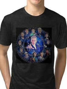 Doctor who (all 13 doctors) Tri-blend T-Shirt