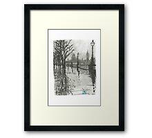 Foggy London Framed Print