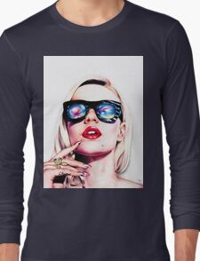 Iggy Azalea Portrait Long Sleeve T-Shirt