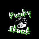 punky skunk by RawanAlsebaie