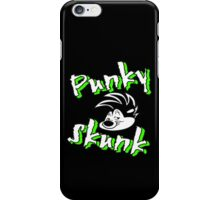 punky skunk iPhone Case/Skin