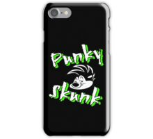 punky skunk iPhone Case/Skin